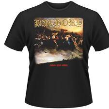 "Bathory ""sangre fuego muerte"" Camiseta-Nuevo Oficial"