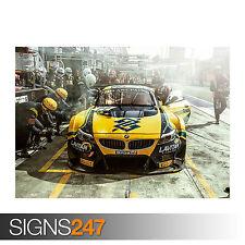 BMW Equipo Brasil (0033) cartel de auto-foto arte cartel impresión A0 A1 A2 A3 A4