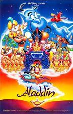 Aladdin Disney Película Póster Película A4 A3 Art Print Cine