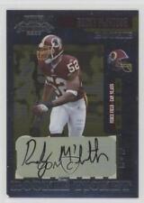 2006 Playoff Contenders #213 Rocky McIntosh Washington Redskins Auto RC Card