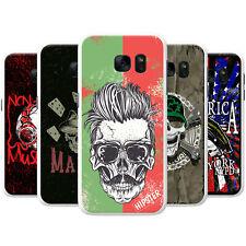 Grunge Cult Fun Skull Art Hipster Music Case for Samsung Galaxy
