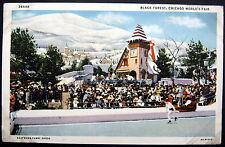 CHICAGO Illinois ~ 1934 WORLD'S FAIR ~ BLACK FOREST ~ ICE SKATING