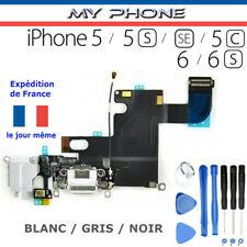 Connecteur de CHARGE IPHONE 6/6S/5/5S/SE/5C NOIR/GRIS/BLANC Dock Port micro USB
