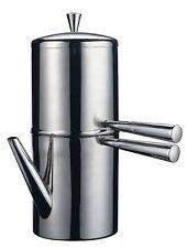 ILSA CAFFETTIERA NAPOLETANA con BECCO in ACCIAIO INOX 18/10 IDEALE PER L'ORZO