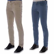 Freeman T. Porter Herren Jeans Regular Straight mit Stretch-Anteil Beige Blau