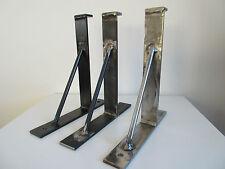 2x All Sizes.*Rustic Hand Made Shelf Brackets.*scaffold  Board brackets