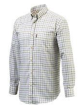 Mens Beretta Classic Shirt - Purple check - all sizes - new