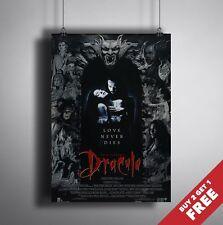 A3 O A4 tamaño * Drácula película de 1992 Poster * Vampiro Clásico De Horror Art Print