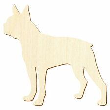 Deko Basteln 3-50cm Holz Bull Terrier