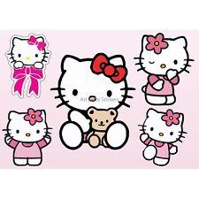 Adesivi bambino foglio di adesivi Hello Kitty ref 9540