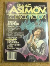 ASIMOV'S (SCI-FI) - LUCIUS SHEPARD - Aug 1986 (BNIP)