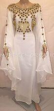 Dubai Moroccan Kaftan Georgette Dress Jilbab Arabian clothing Hot ISLAMIC 4841