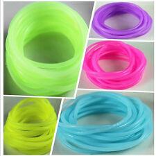 5Pcs silicone elastic rubber band Bracelet wristband Bangles Hot SP