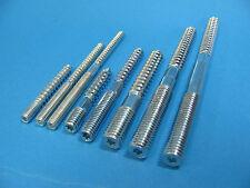 Stockschrauben verzinkt mit I-Stern M6,M8;M10, diverse Längen Stockschraube