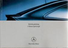 MERCEDES c30 CDI AMG manuale di istruzioni 2004 SPORT COUPE cl203 manuale BA