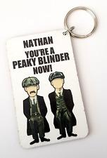 Personalised 'Peaky Blinders' Inspired Keyring Gift
