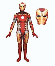 Simile Ironman Costume Carnevale Dress up 3D Cosplay Costume Zentai IRON03