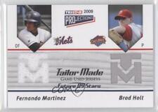 2009 TRISTAR PROjections Tailor Made #TM-36 Fernando Martinez Brad Holt Card