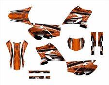 TTR230 Graphics decal kit 2005 - 2015 #2001 Orange Free Custom Service