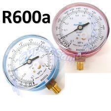 3S Manometro alta o bassa pressione per gas refrigerante R600a R600 frigor NUOVO
