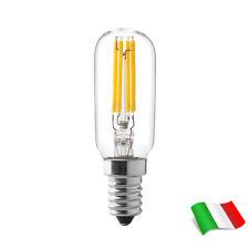 Lampadina a Filamento LED E14 a Tubolare 4W 3000K°