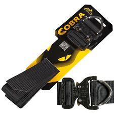Helikon TEX COBRA D-Ring fx45 Tactical Belt Cintura inserto nero tattico