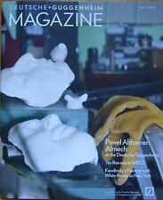 Deutsche Guggenheim Magazin Ausgabe 17 Herbst 2011 Ausstellung Pawel Althamer: