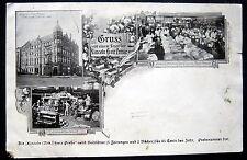 LINCOLN NE~1900's GRUSS VON EINEM LESER DER LINCOLN FREIE PRESSE~NEWSPAPER PRESS
