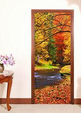 3D Colored Woods 666 Door Wall Mural Photo Wall Sticker Decal AJ WALLPAPER CA