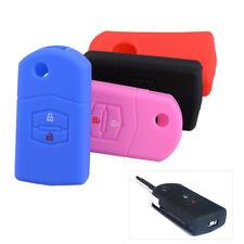 2 Buttons Remote Flip Key Case Fob Cover Fit For Mazda 2 3 5 6 CX7 RX8 MX5 MPV