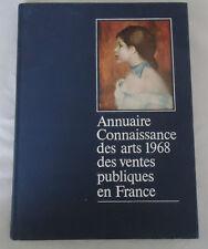Annuaire Connaissance Des Arts 1968 Des Ventes Publiques En France, Francis Spar