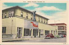 Hotel Pulaski, Pulaski Virginia VA Postcard