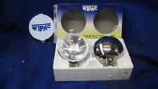 "MG TRIUMPH MINI PAIR NEW WIPAC 5 1/2"" CHROME DRIVING  LAMPS LIGHTS SET   ***"