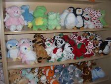 W-F-L  TY  Pluffies Auswahl Stofftier für Baby 25 cm Kuscheltier Plüschtier