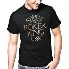 The Poker King | Texas Hold Em | Flush | Gold Metallic | S-XXL T-Shirt