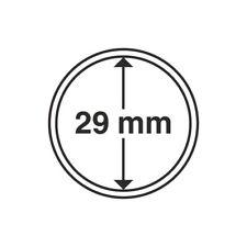 Capsules Leuchtturm 29mm pour les pièces de 10euros des régions, par 30.