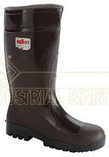 Stivali da lavoro gomma nitrilica per agricoltura ISSA LINE colore marrone 2007bea2a46a