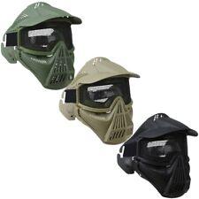 Cara Completa Malla Máscara Acero Grid Airsoft Paintball Protectores Ventilado