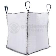 GardenersDream 1 Tonne FIBC Bulk Builders Bags w/ Handles Heavy White (1000kg)