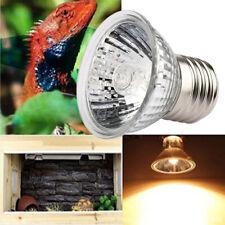 25/50/75W UVA+UVB Heating Lamp Bulb Light Heater for Pet Reptile Brooder