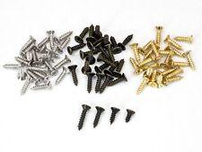 100 Stück Kreuzschlitz-Minischrauben 2x5 2x6 2x8 2x10mm antik bronze gold silber