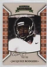 2011 Press Pass Legends Gold #12 Jacquizz Rodgers Rookie Football Card