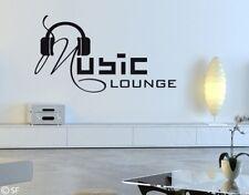 Wandtattoo Music Lounge Wandaufkleber Wohnzimmer Schlafzimmer Bar Club uss135
