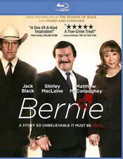 Bernie (Blu-ray Disc, 2012) Jack Black, Matthew McConaughey, Shirley MacLaine
