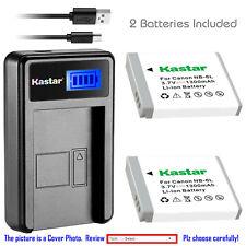 Kastar NB-6L NB6L Battery Charger for Canon PowerShot SX510 HS SX600 HS SX700 HS