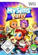 Nintendo Wii Spiel - My Sims: Party (DE/EN) (mit OVP)