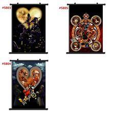 "Anime Kingdom Hearts manga Wall Scroll Poster cosplay8""x11"""