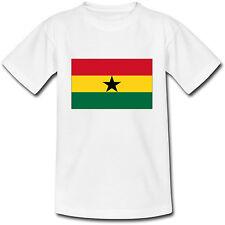 T-shirt Adulte Drapeau Ghana - du S au 2XL