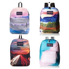 "Jansport ""High Stakes"" Superbreak Backpack Book Bag Artists Original Authentic"