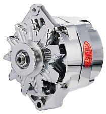 Powermaster 17294 Alternator Chevrolet/ GM 12si Style V-Belt 100 Amps Chrome